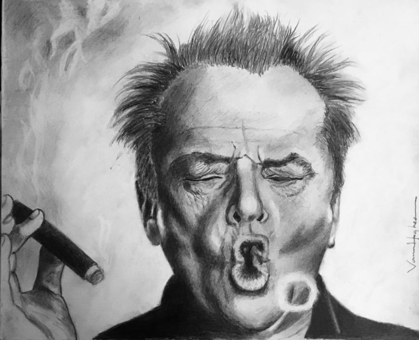Jack Nicholson by Vannagain
